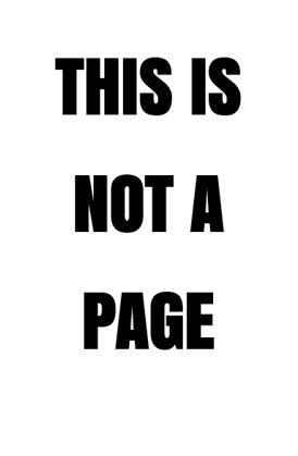 not a page